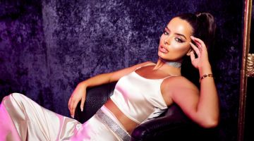 Love Island star Maura Higgins poses for Boohoo party edit campaign