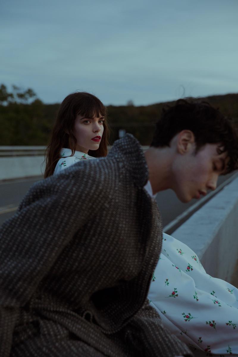 Meghan & Emile Embrace Romantic Looks for Vogue Portugal