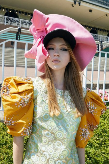 Lila, Adut, Abby Hit the Race Track for Miu Miu Cruise 2020 Campaign