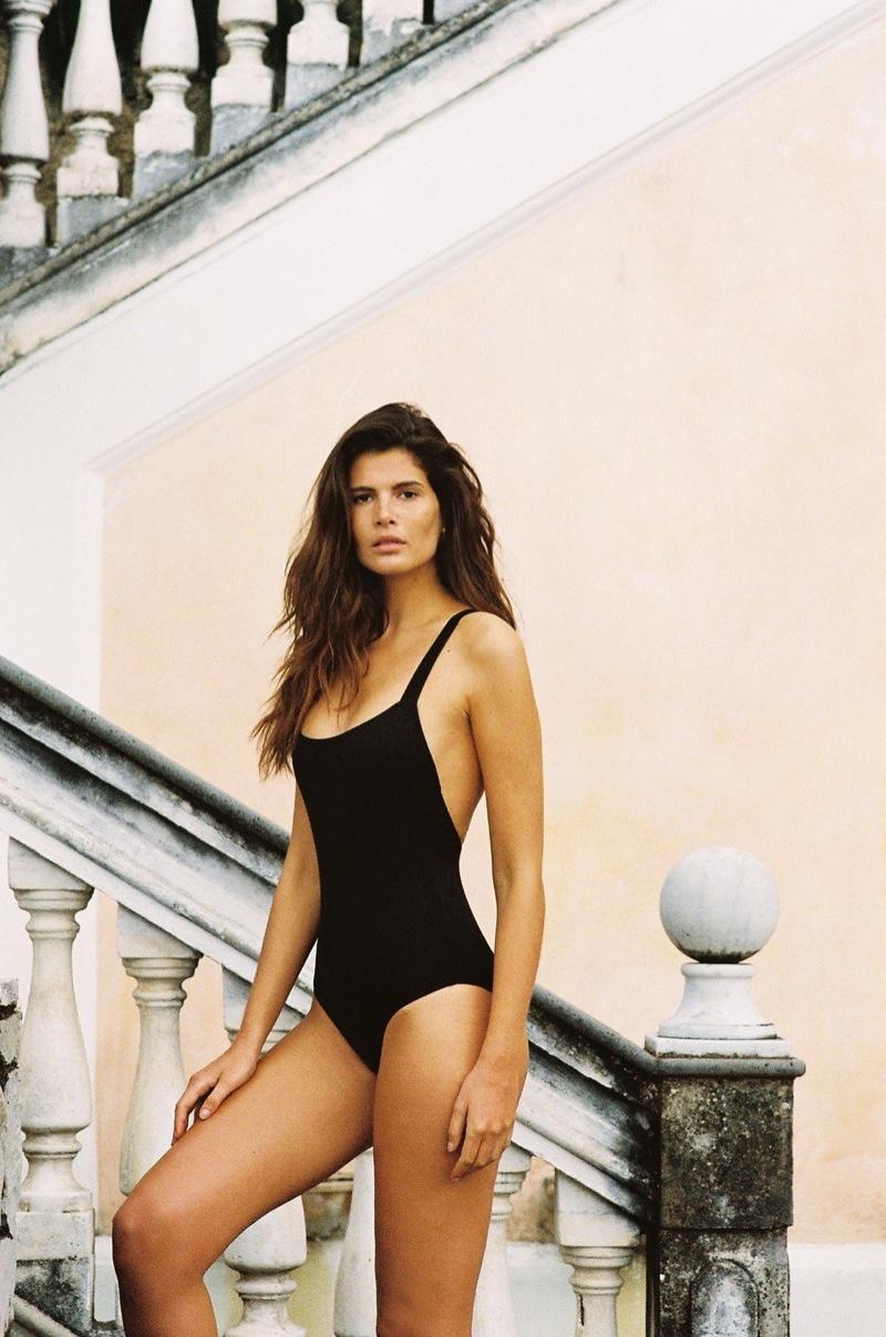 Monica Cima stars in Talia Collins Swimwear resort 2020 campaign