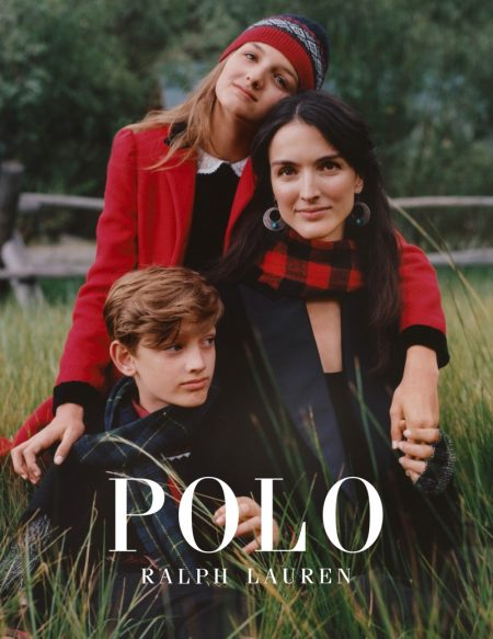 Taylor Hill Gets Festive in Polo Ralph Lauren Holiday 2019 Campaign