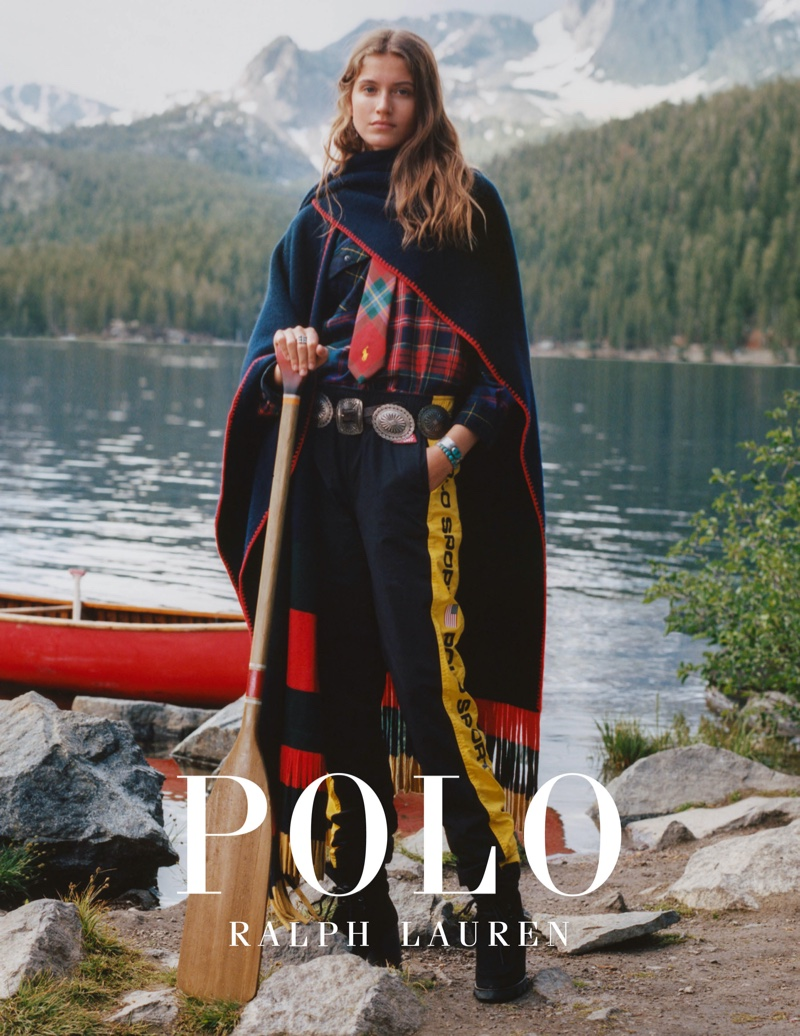 An image from Polo Ralph Lauren's holiday 2019 advertising campaign