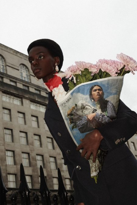 Prada Gets Its Flowers for Resort 2020 Campaign