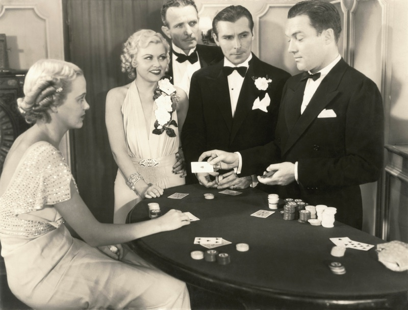 Retro Casino 1940s Fashion Women Men