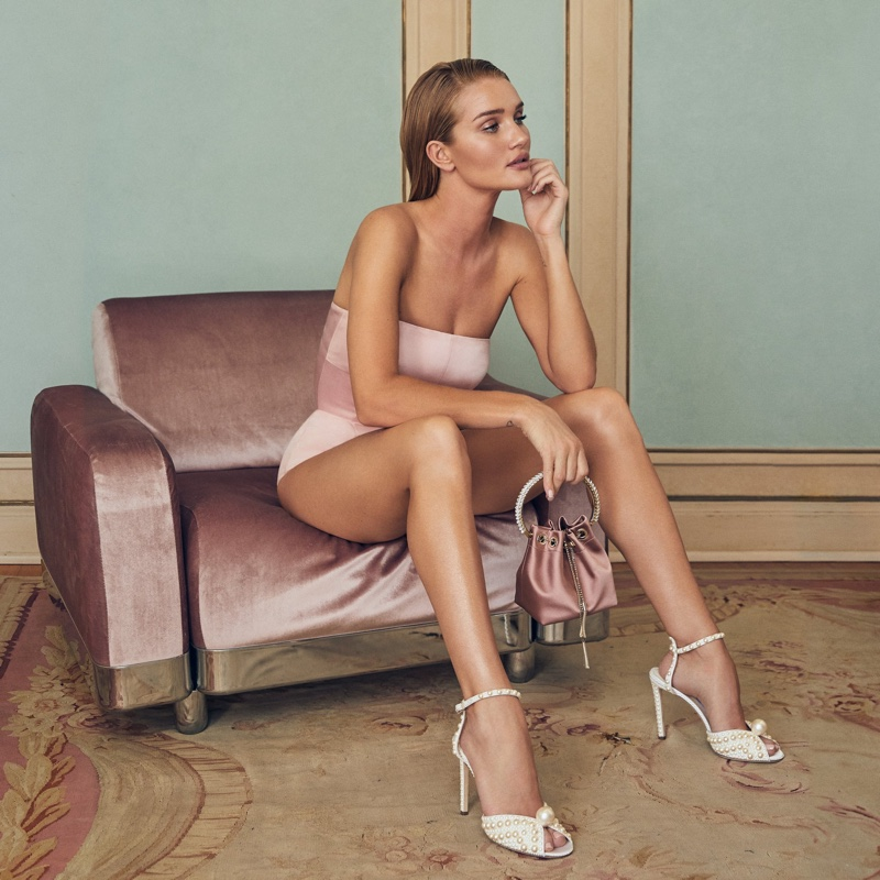 Jimmy Choo spotlights Sacora 100 sandals from resort 2020 collection