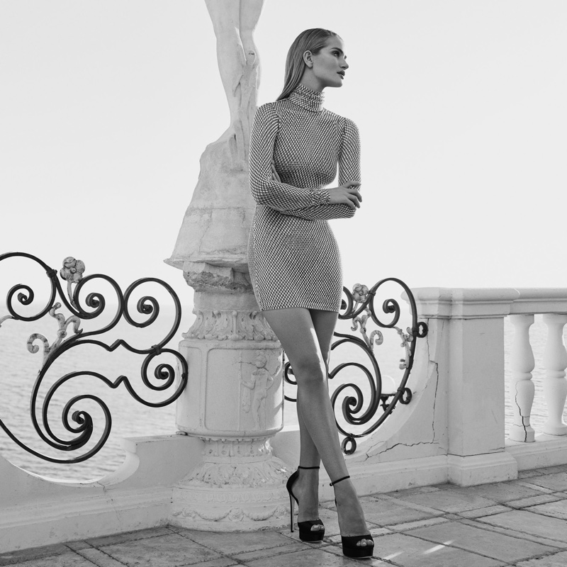 Jimmy Choo Max 150 heels worn by Rosie Huntington-Whiteley