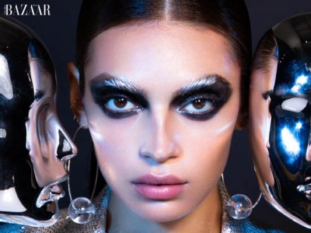 Rubina Dyan Shines for Harper's Bazaar Arabia Beauty