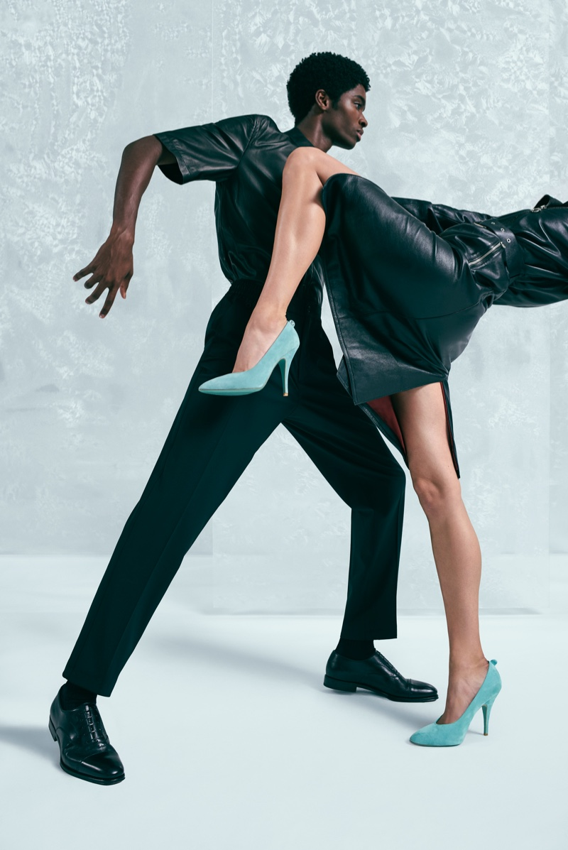 Dancing takes the spotlight in Salvatore Ferragamo Holiday 2019 campaign