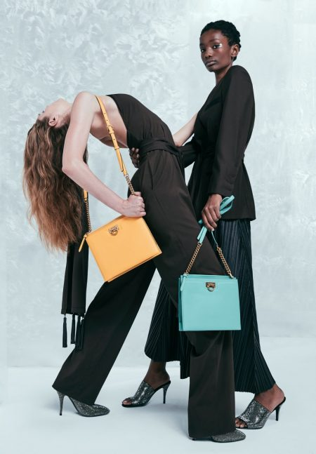 Imari, Songhwa & Nataliya Get Moving in Salvatore Ferragamo Holiday 2019 Campaign