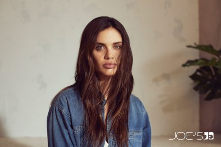 Sara Sampaio Relaxes in Joe's Jeans Fall 2019 Campaign