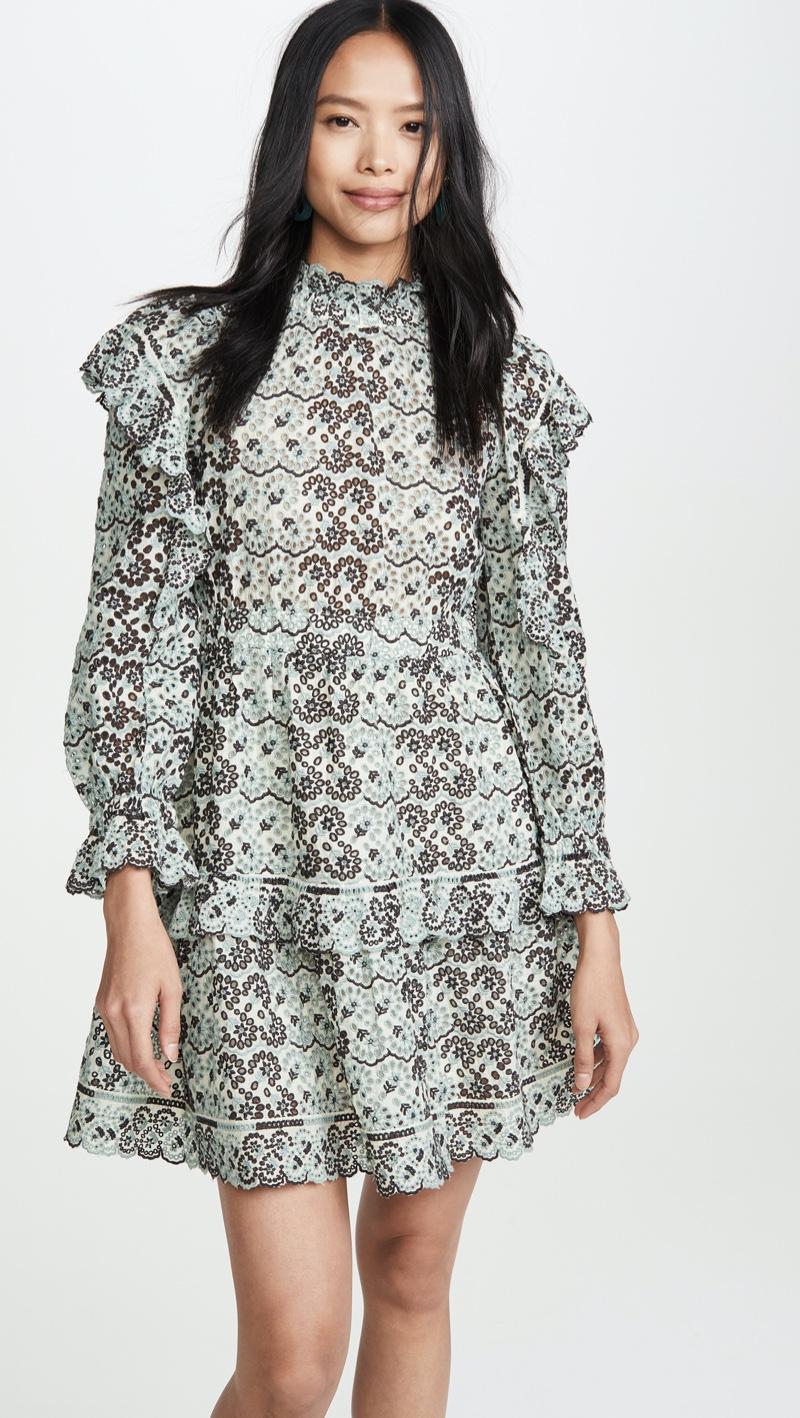 Sea Aurelia Ruffle Sleeve Dress $385