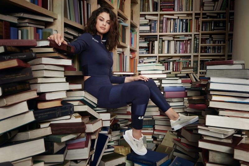 An image from Selena Gomez Collection x PUMA fall-winter 2019 campaign