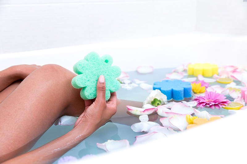 Sponges Bath Flowers