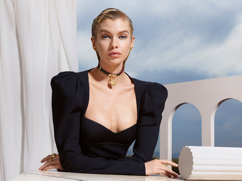 Versace Watches taps Stella Maxwell for fall-winter 2019 campaign