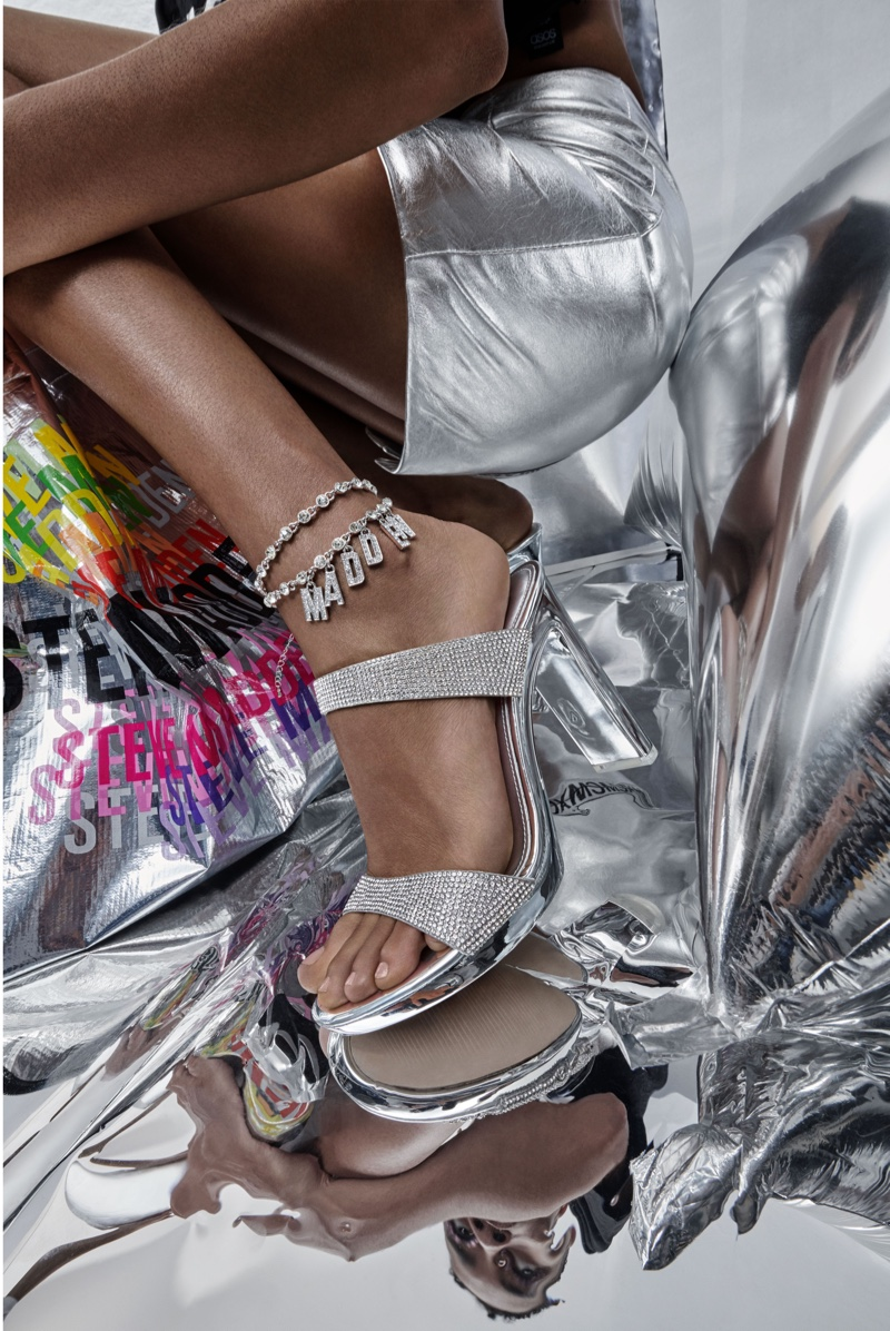 Steve Madden focuses on glittery shoes for Holiday 2019 campaign