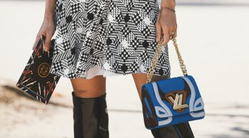 Street Style Louis Vuitton Handbag