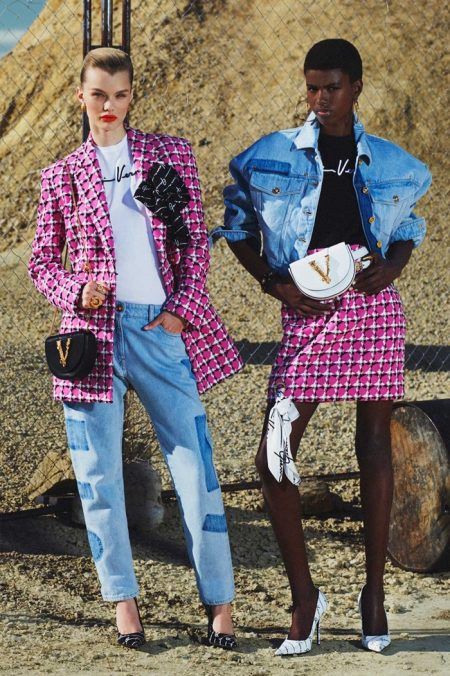 Versace Goes West for Resort 2020 Collection