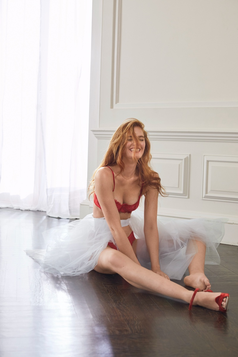 Alexina Graham fronts Victoria's Secret Holiday 2019 campaign