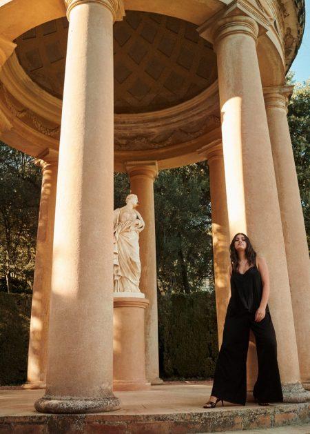Lorena Duran Models Violeta by Mango's Party Looks
