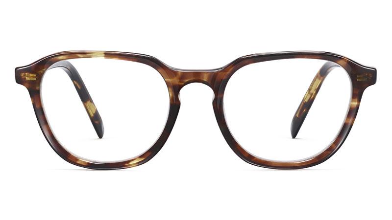 Warby Parker Calder Glasses in Root Beer $95