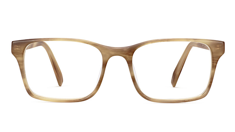 Warby Parker Hendson Glasses in English Oak Matte $95
