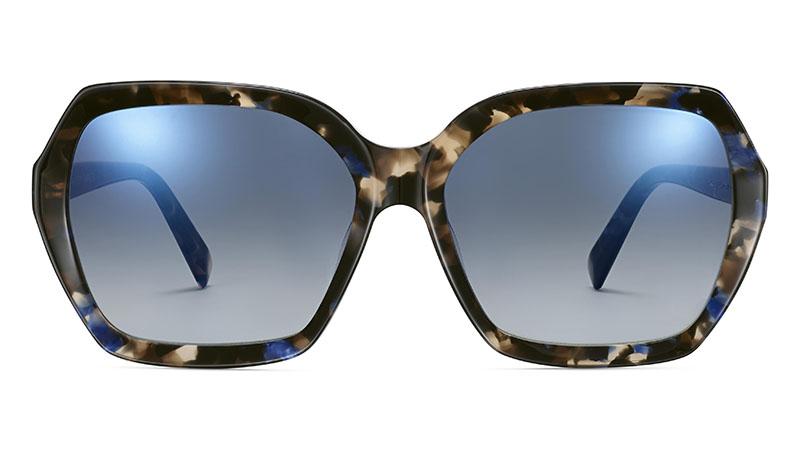 Warby Parker Iona Sunglasses in Tanzanite Tortoise $95