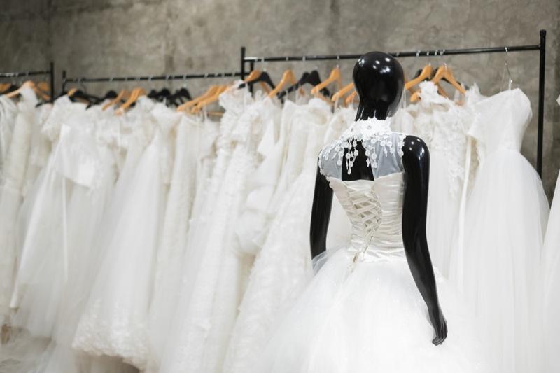 Wedding Dress Selection Mannequin