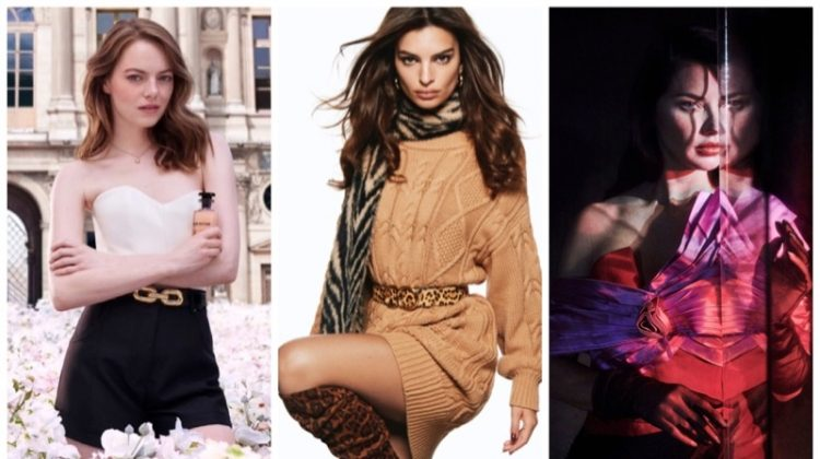 Week in Review | Adriana Lima's New Cover, Emrata in Express, Emma Stone for Louis Vuitton + More