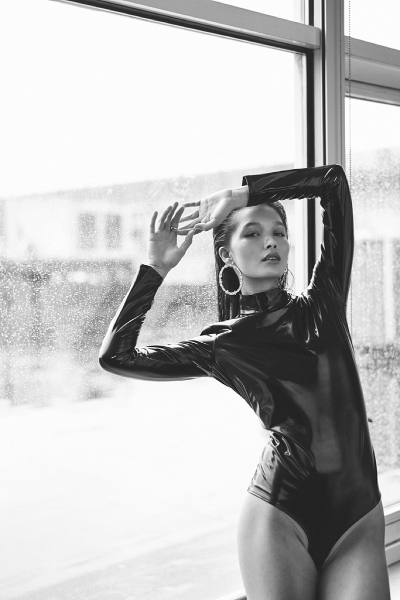 Yada Villaret Impresses in Black & White for Issue Magazine
