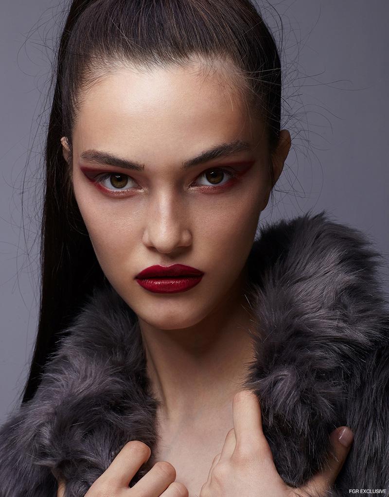 Vera Wang Faux Fur Coat. Photo: Sam Itzhakov