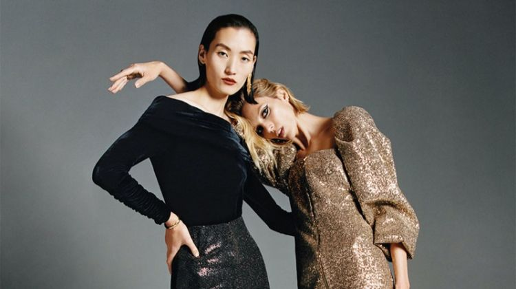 Lina Zhang and Anja Rubik star in Zara Dance fall-winter 2019 editorial
