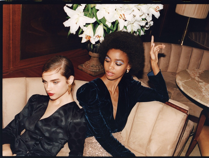 Zara TRF offers up going out looks for Sunset Party editorial