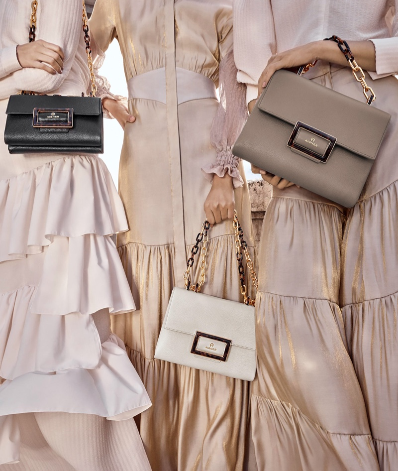 An image from Aigner's advertising spring 2020 campaign