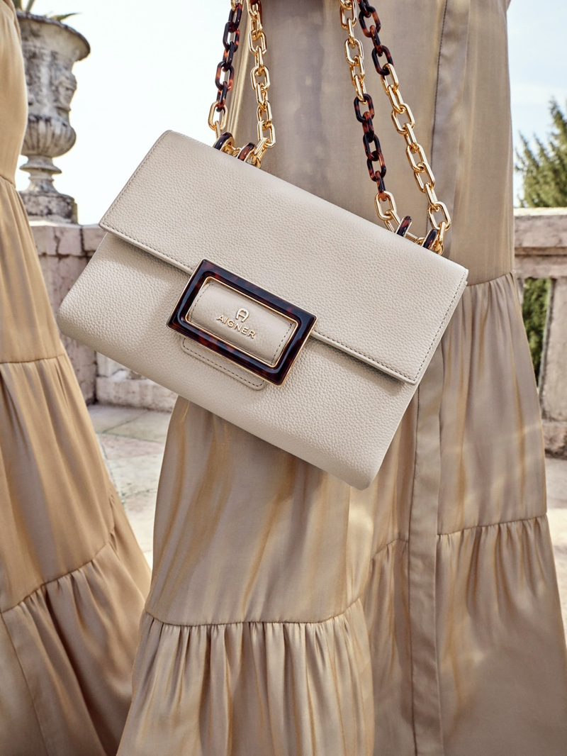 Aigner focuses on handbags for spring-summer 2020 campaign