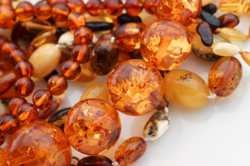 Amber Jewelry Closeup Lifestyle
