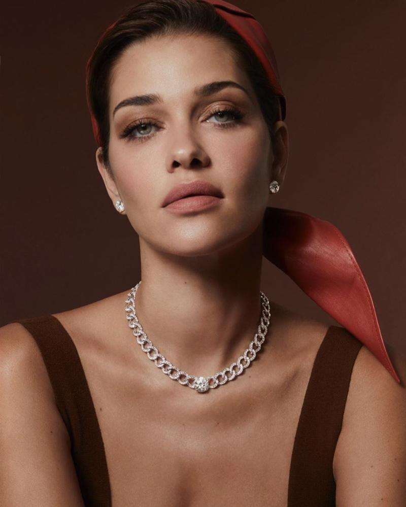 Ana Beatriz Barros fronts in Danelian Diamond Club campaign