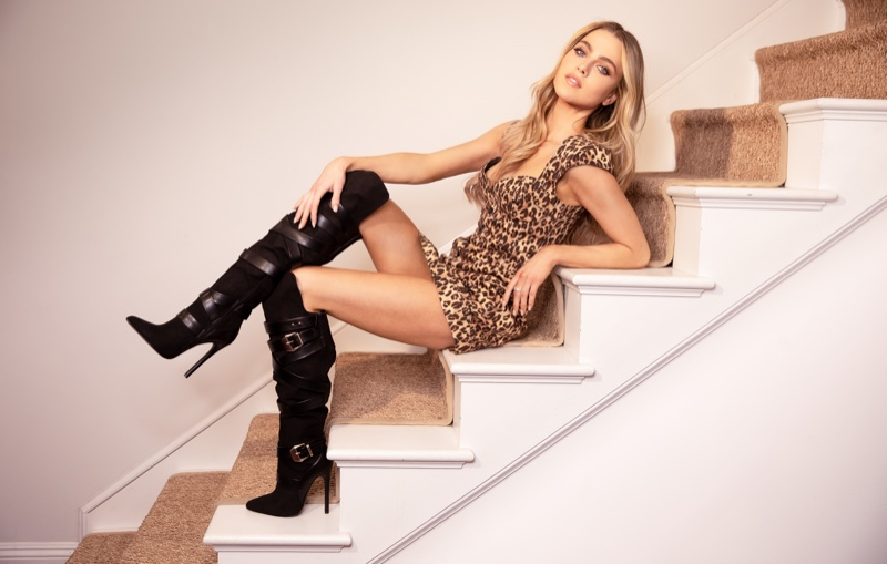JustFab features actress Anne Winters in new shoe campaign