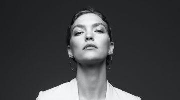 Arizona Muse Poses in Black & White for Style Corriere della Sera