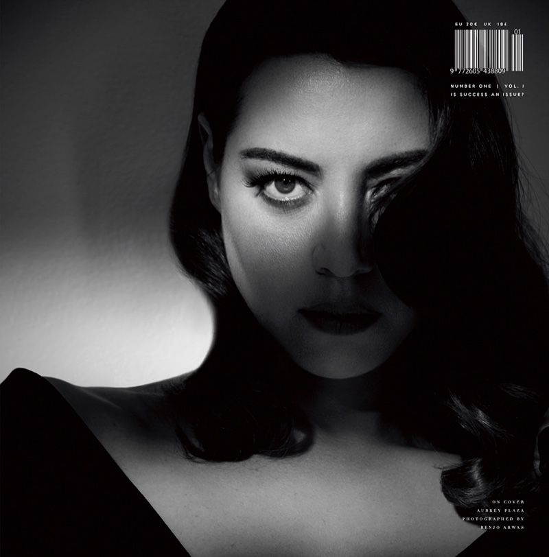 Aubrey Plaza on Number One Volume #1 Cover