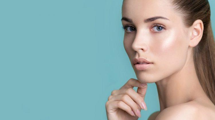 Beauty Model Clear Skin Natural Makeup
