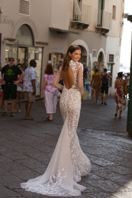 BERTA PRIVÉE Heads to the Almalfi Coast for 2020 Bridal Collection