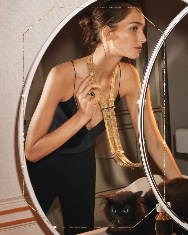 Jewelry brand Boucheron unveils Holiday 2019 campaign