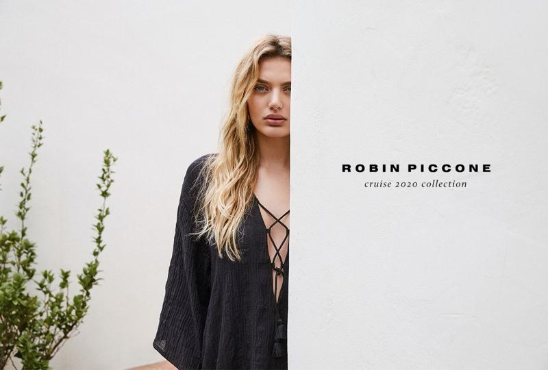 Bregje Heinen stars in Robin Piccone cruise 2020 lookbook