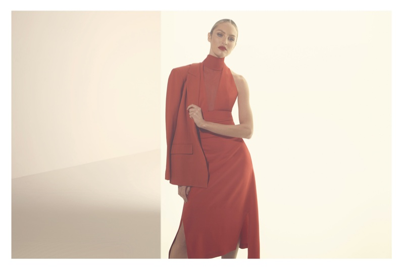 Candice Swanepoel appears in Animale El Rojo campaign