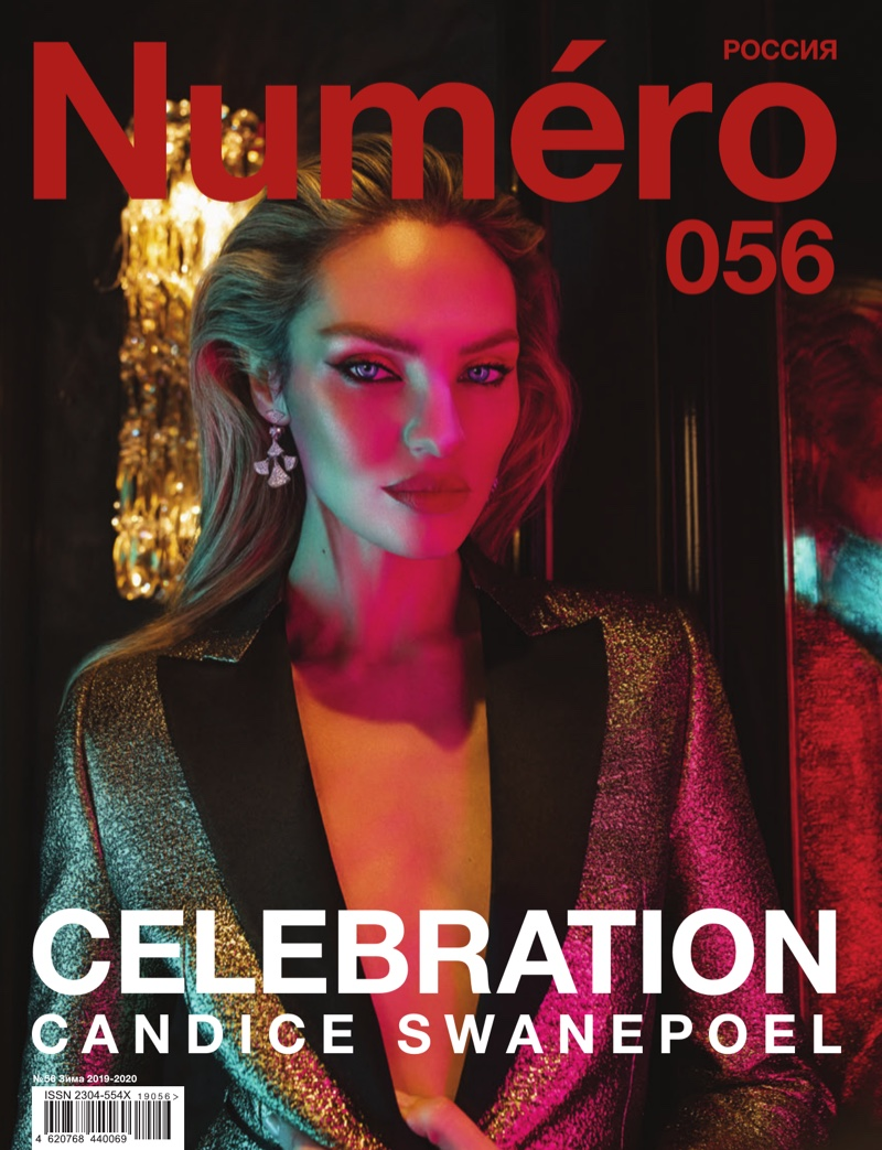 Candice Swanepoel Smolders for the Pages of Numero Russia