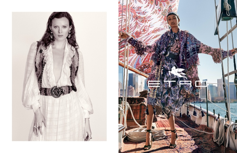 An image from Etro's spring 2020 advertising campaign