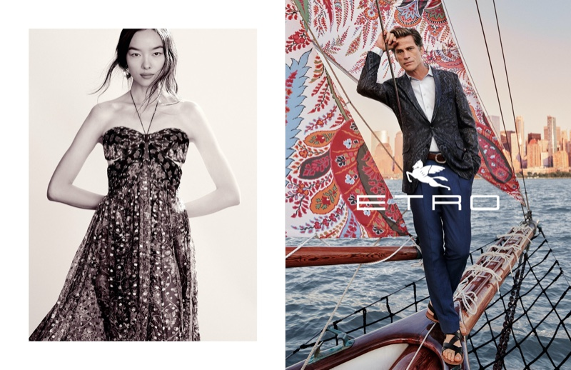 Etro sets spring-summer 2020 campaign in New York