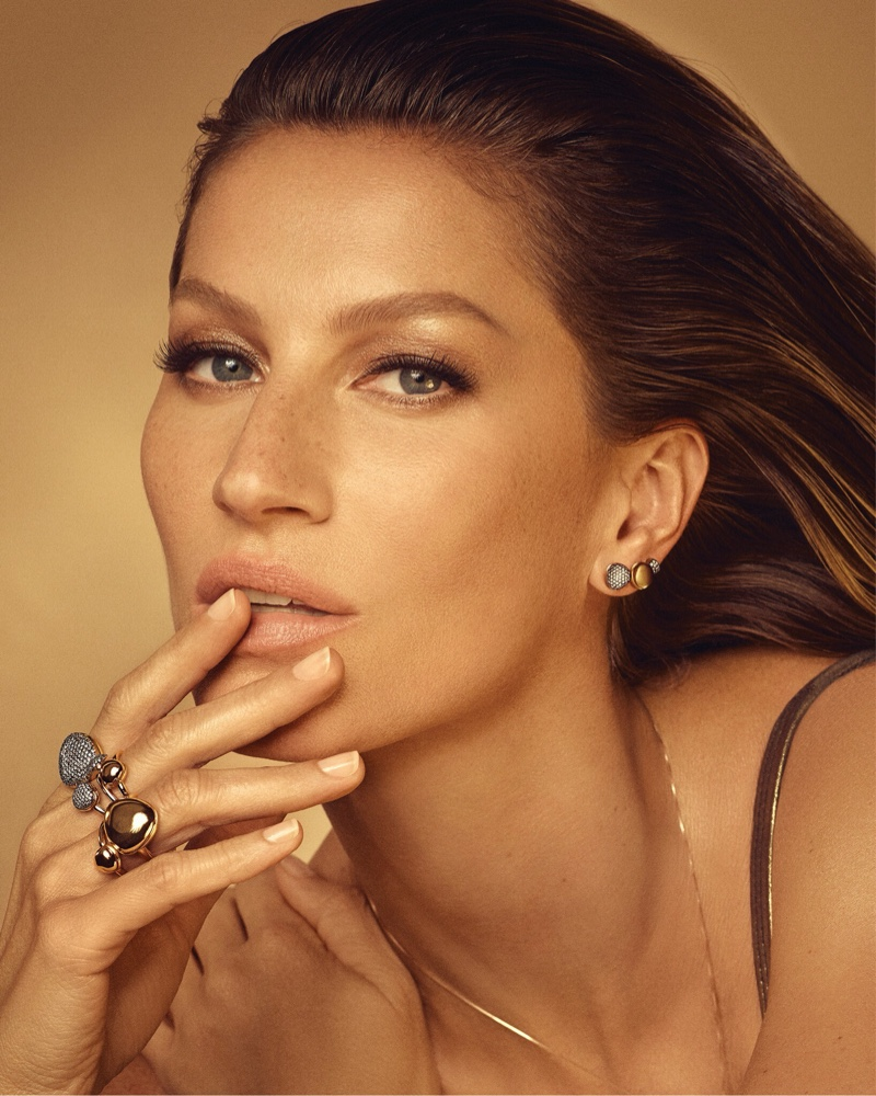 Gisele Bundchen stars in Vivara Golden Time jewelry campaign