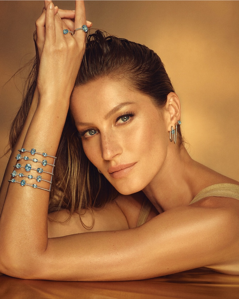 Jewelry brand Vivara enlists Gisele Bundchen for Golden Time campaign