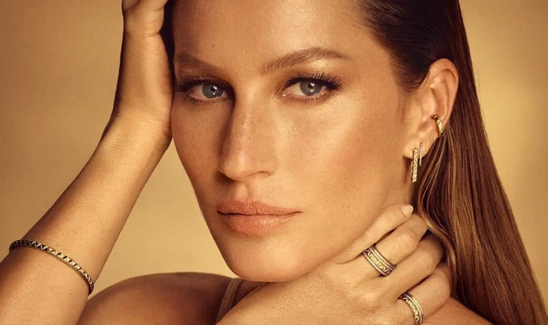Vivara features Gisele Bundchen in its Golden Time advertising campaign